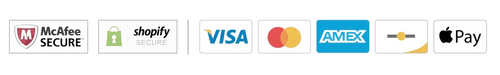 tatty head accepts all forms of credit cards