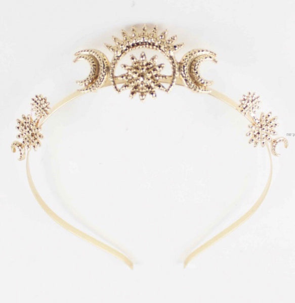 Gypsy moon crown.