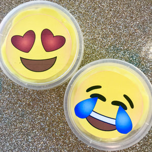 The Slime Princess- Mini Emoji face slime