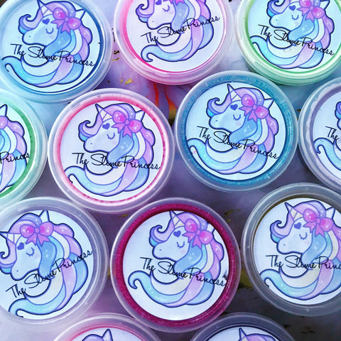 The Slime Princess- Mini Party Favour Slimes.