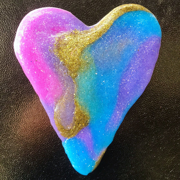The Slime Princess - Rainbow Unicorn Tears slime. DIY SWIRL.