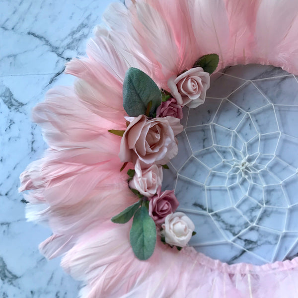 The Dreamer JuJu hat - Vintage Rose.