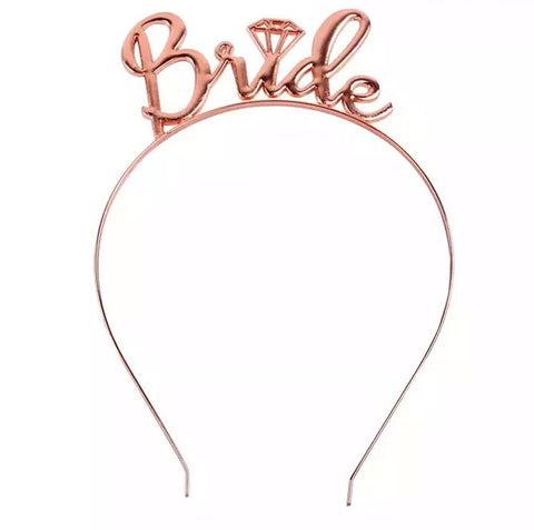 Bride crown - Rose Gold.