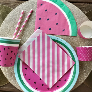 Watermelon party set.