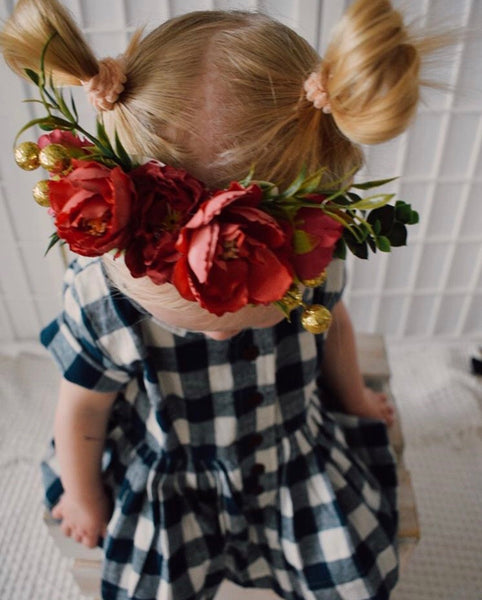 Merry Christmas - Mini Flowercrown.
