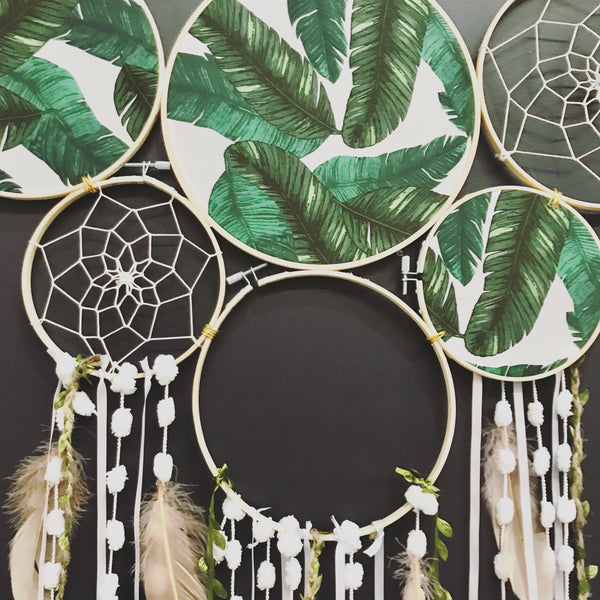 In the wild- Dreamcatcher wall piece.