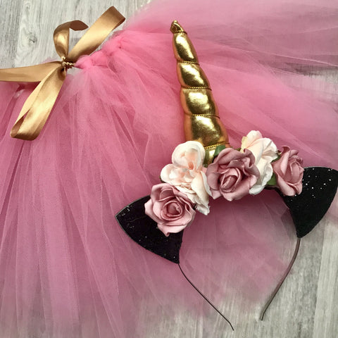 My little unicorn set -pink