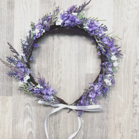 Violet Flowercrown - Style 2