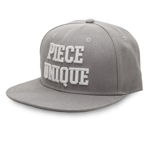 Grey PIECE UNIQUE Snapback hat