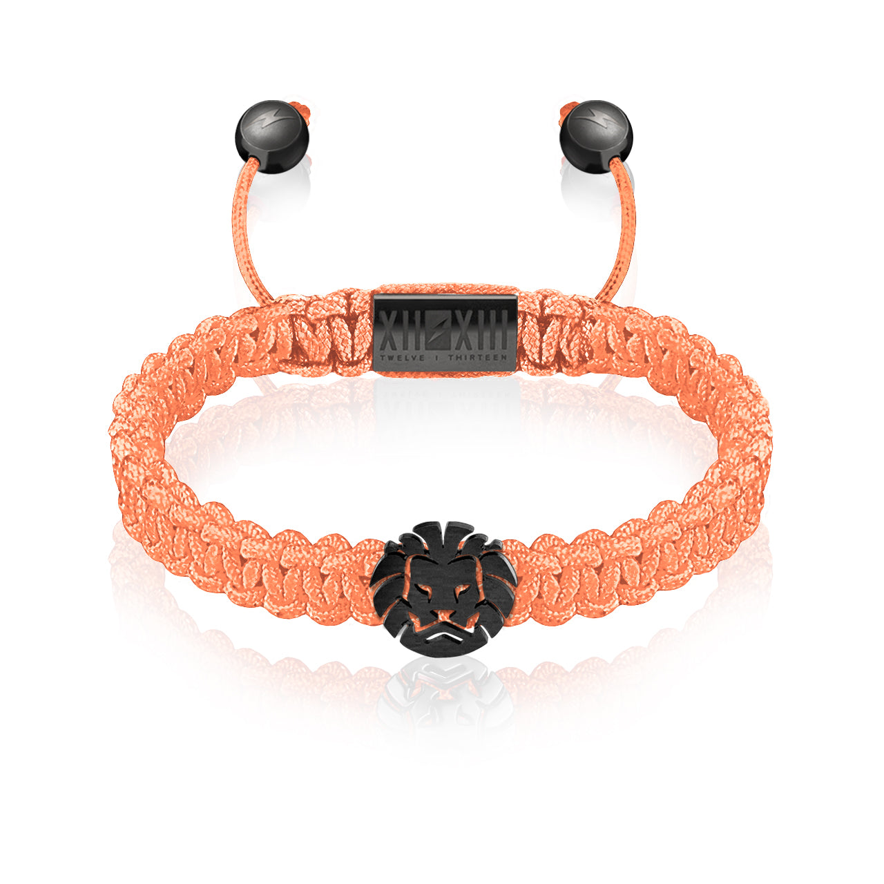 WATCHANISH by Twelve Thirteen Jewelry macramé braided bracelet - Rosa/Matte Black