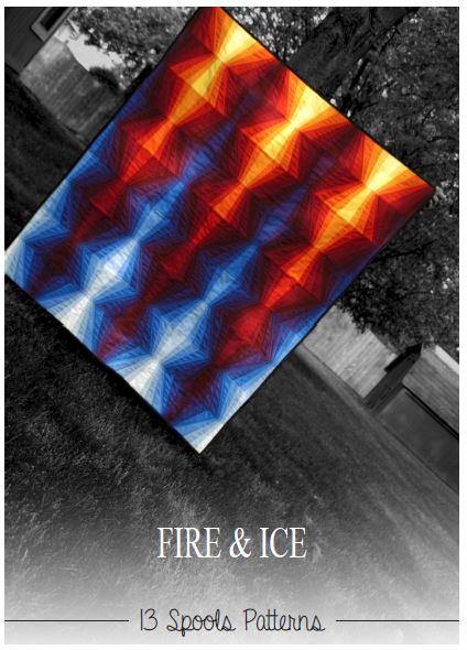 Quilt Pattern - Fire & Ice