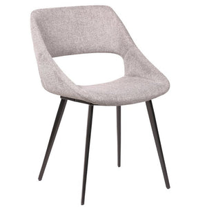Brice Fabric Dining Chair in Grey