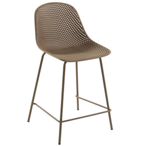 Brooks 65cm Bar Stool in Beige