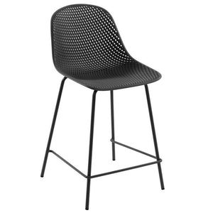 Brooks 65cm Bar Stool in Grey
