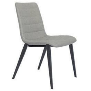 Camden Leatherette Dining Chair in Vintage Light Grey