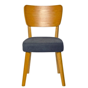 Kelly Beech Wood Bar Stool in Black