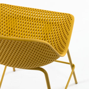 Brooks 65cm Bar Stool in Yellow