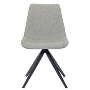Xander Fabric Dining Chair in Grey