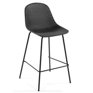 Brooks 75cm Bar Stool in Grey