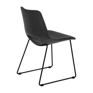 Kye Fabric Dining Chair in Anthracite