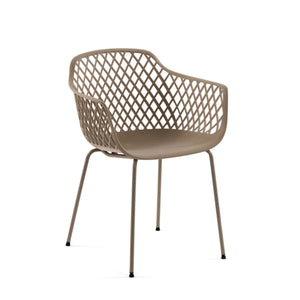 Troy Dining Chair in Beige