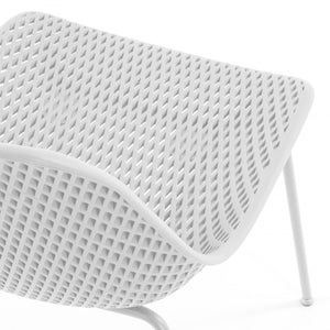 Brooks Dining Chair in White