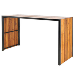 Murry Teak Wood Outdoor Bar Table