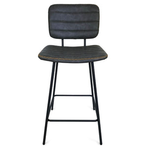 Asher Kitchen Counter Stool in Vintage Grey