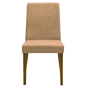 Remy Fabric Dining Chair in Brown
