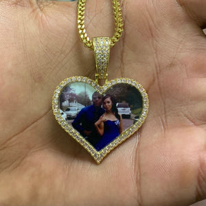 Heart Picture Necklace