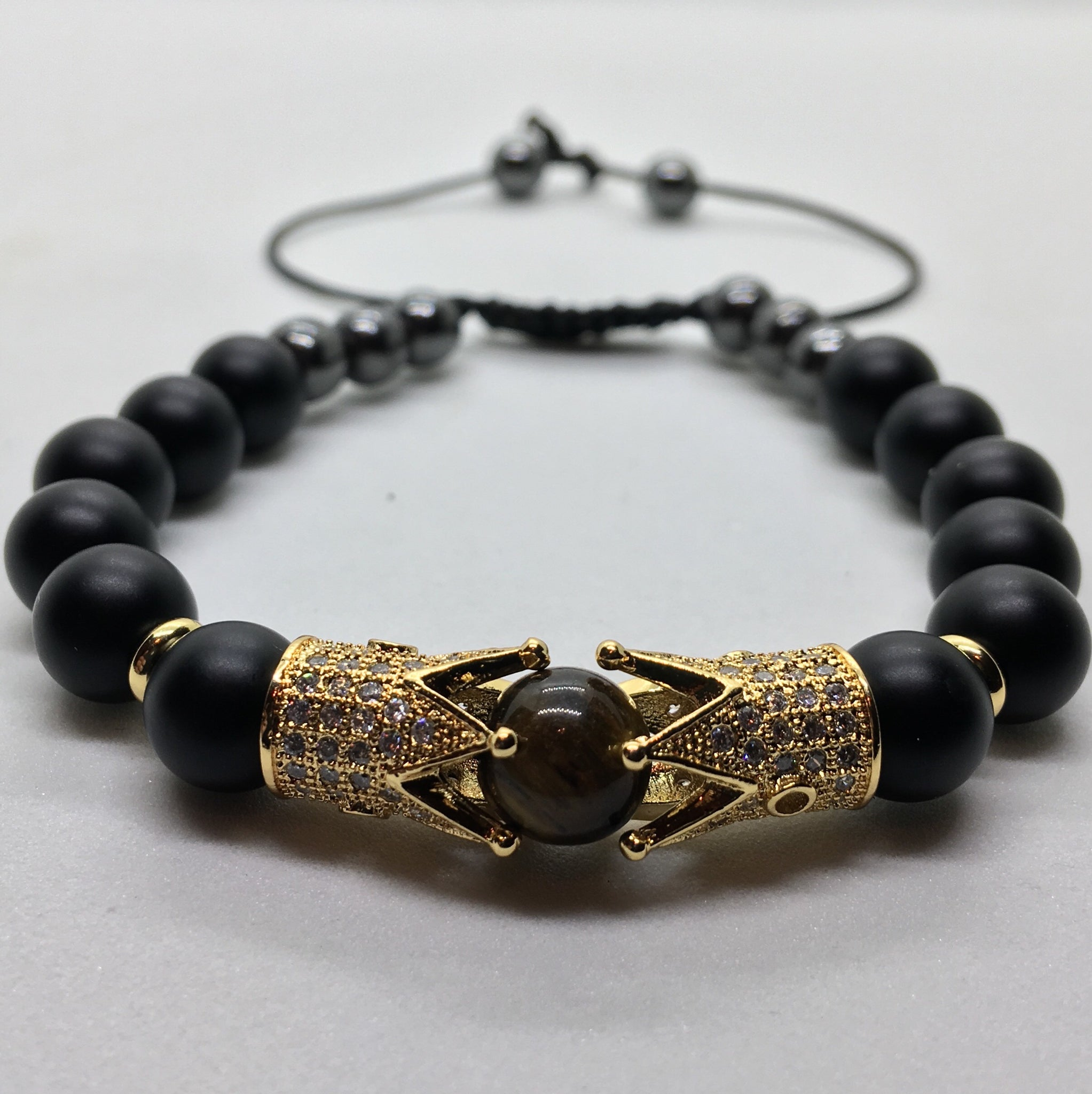 "The ""Mogul"" 18k Plated Gold Bracelet"