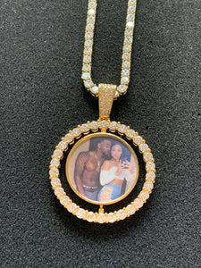 Double Sided Picture Necklace