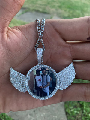 Wings Picture Necklace