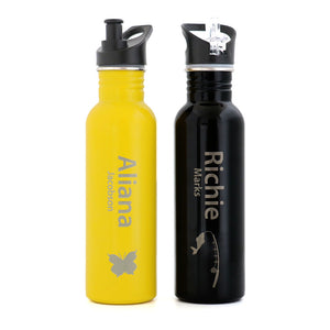 NAMED & IMAGE - Stainless Steel ECO Drink Bottle - 750ml
