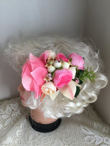 MARGO - large cluster hair flower