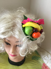Load image into Gallery viewer, LEILANI - Pink hibiscus  / Fruit cluster hairpiece
