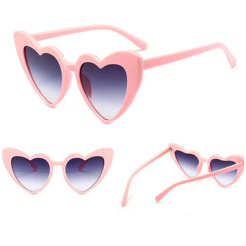 Heart sunglasses ...PINK ...400 UV