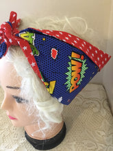 Load image into Gallery viewer, Comic print - Vintage inspired do-rag