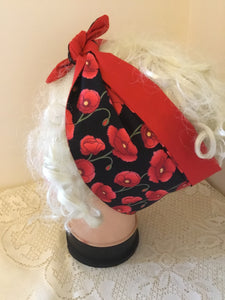 Poppy - Vintage inspired do-rag