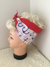 Load image into Gallery viewer, ANCHOR - Vintage inspired do-rag