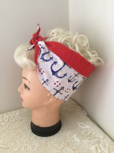 ANCHOR - Vintage inspired do-rag