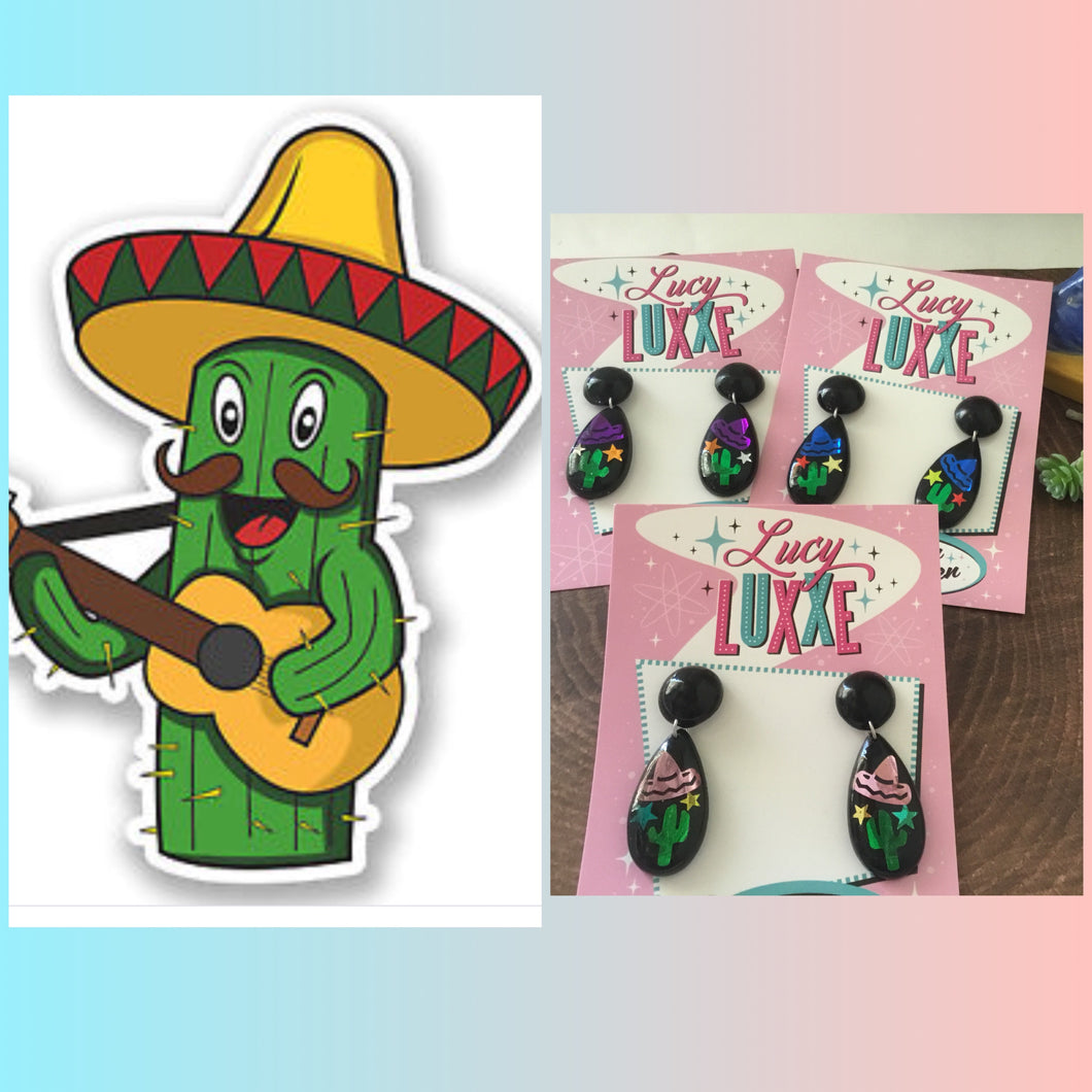 EL PASO - Mexican inspired earrings - various colours