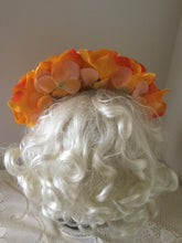 Load image into Gallery viewer, FRIDA - rose flowercrown  - Burnt yellow
