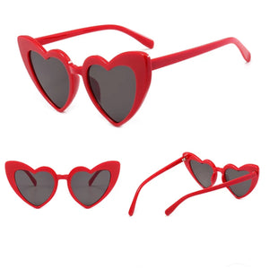 Heart sunglasses ...RED  400 UV