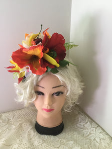 TANYA - tropical cluster  headband / flowercrown - fruit