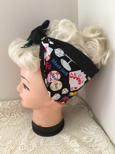 VIVA LAS VEGAS - vintage inspired do-rags - LIMITED EDITION
