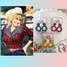Load image into Gallery viewer, DOLLY -  hoop earrings - various colours