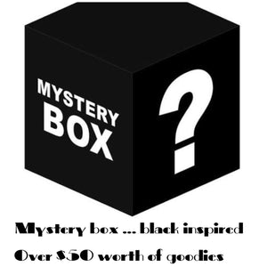 MYSTERY BOX... black inspired