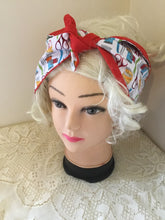 Load image into Gallery viewer, Sewing print - Vintage inspired do-rag