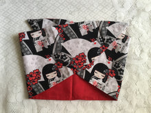 Load image into Gallery viewer, JAPANESE DOLL - vintage inspired do-rag - black